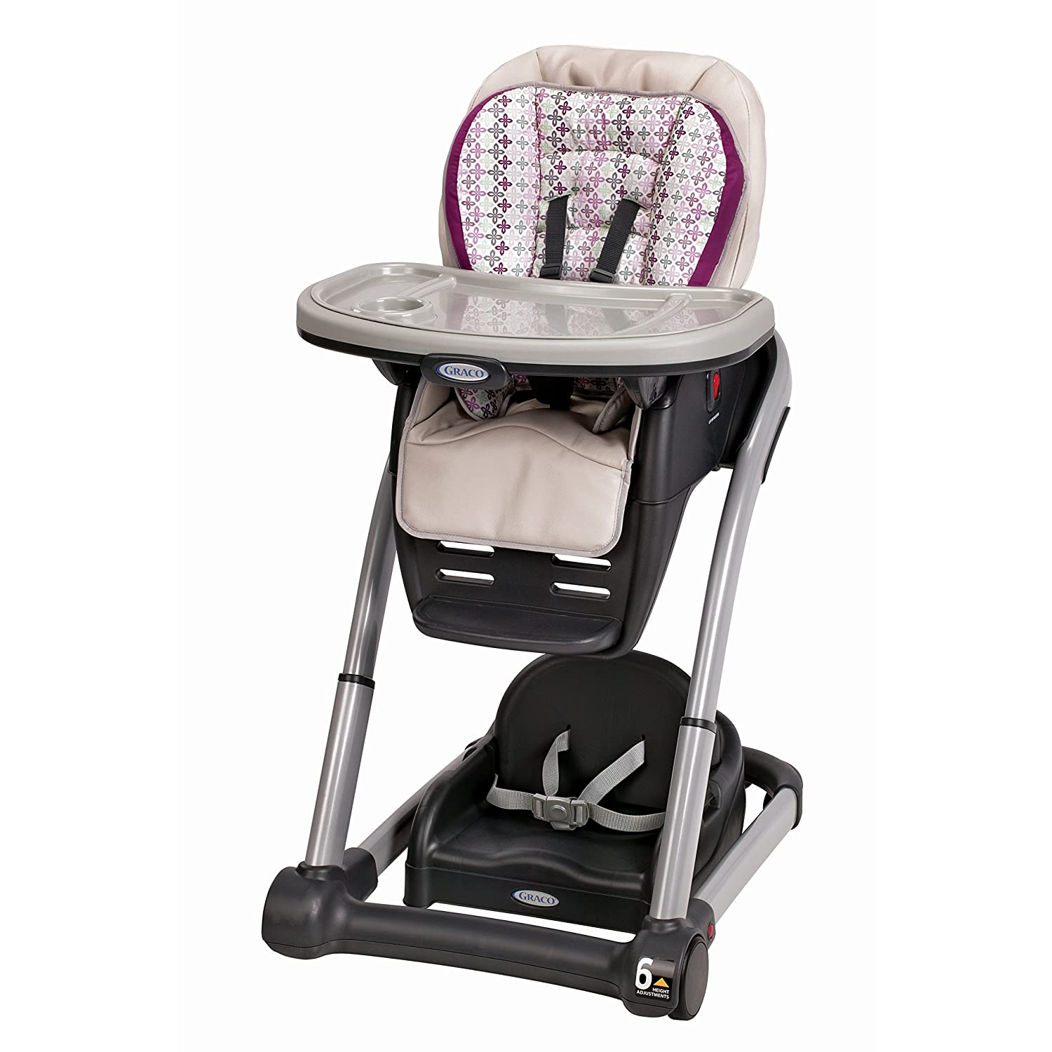 Graco Blossom 6-in-1 Convertible High Chair Seating System, Fifer 1907177