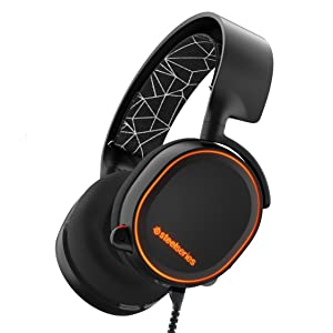 SteelSeries Arctis 5 Gaming Headset with RGB Illumination and DTS Headphone:X 7.1 Surround for PC, PlayStation 4, Xbox One, VR, Android and iOS
