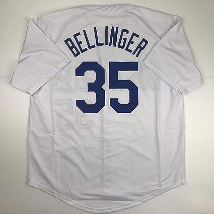hot sale online e52ea 95936 Unsigned Cody Bellinger Los Angeles LA White Custom Stitched ...
