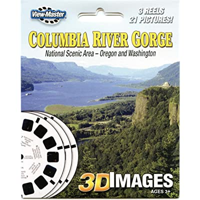 Columbia River Gorge Nationaol Scenic Area - ViewMaster Reels 3D - Unsold store stock - never opened: Toys & Games