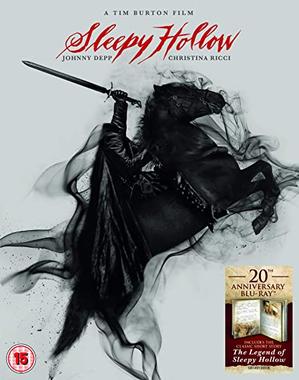 Sleepy Hollow - 20Th Anniversary Digibook Edizione: Regno Unito Italia Blu-ray: Amazon.es: Cine y Series TV