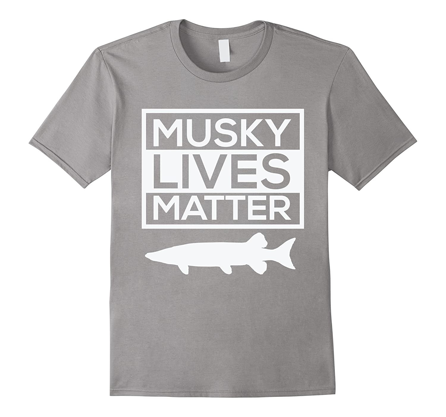 Amazon musky lives matter muskellunge musky fishing funny t amazon musky lives matter muskellunge musky fishing funny t shirt clothing geenschuldenfo Image collections