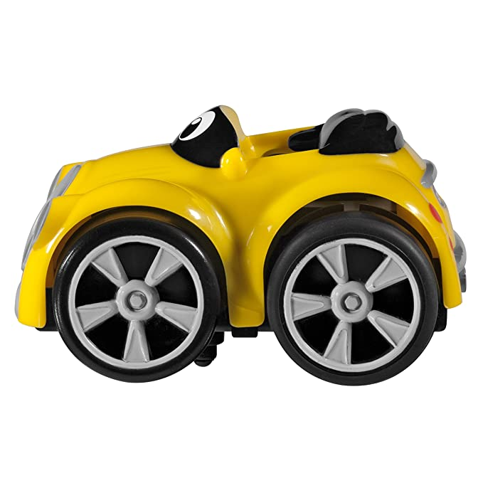Chicco - Coche Turbo Touch Stunt Car, Henry McLoad, Color Amarillo: Amazon.es: Juguetes y juegos