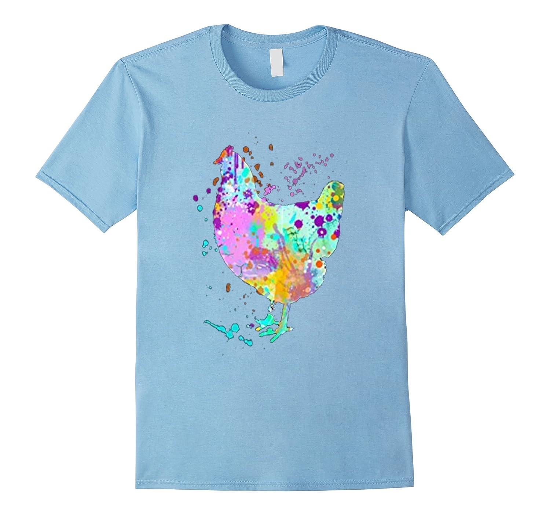 Love Chicken Art Funny T Shirt Gift-TH