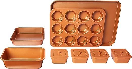 Copper Chef 12 Piece Bakeware Set Amazon Ca Home Kitchen