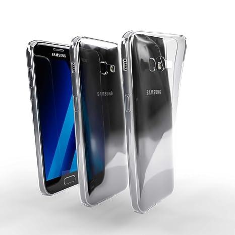 Savvies Funda para Samsung Galaxy A3 (2017) Carcasa Funda ...