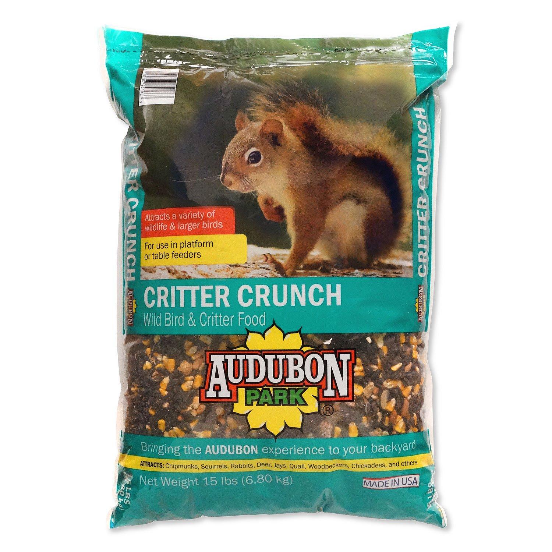 Audubon Park 12243 Critter Crunch Wild Bird and Critter Food, 15-Pounds
