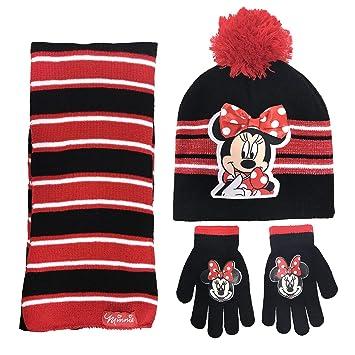 dessin de mode dernières tendances de 2019 choisir l'original Disney Bonnet Casquette Minnie Mouse Enfants et écharpe et ...