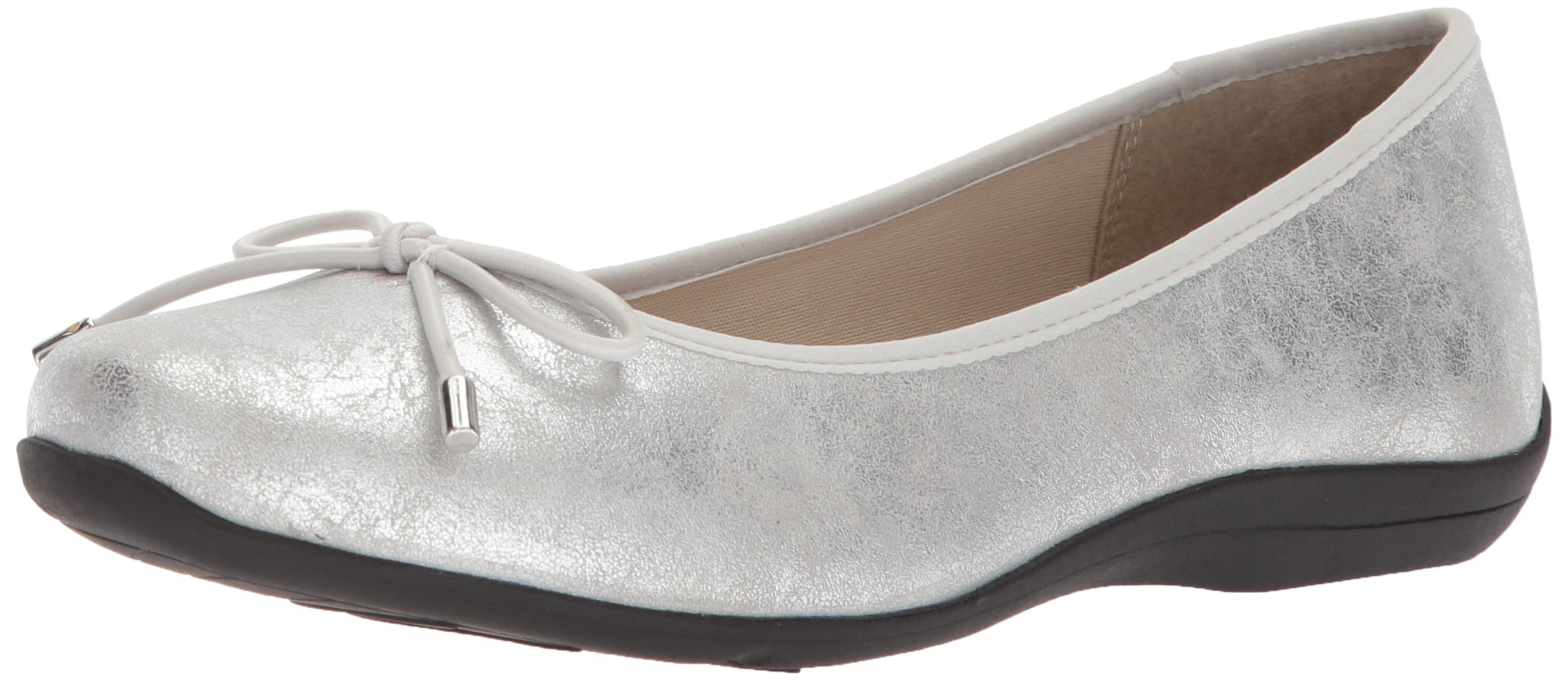 Soft Style by Hush Puppies Women's Heartbreaker Loafer, Silver Eclipse, 08.5 M US