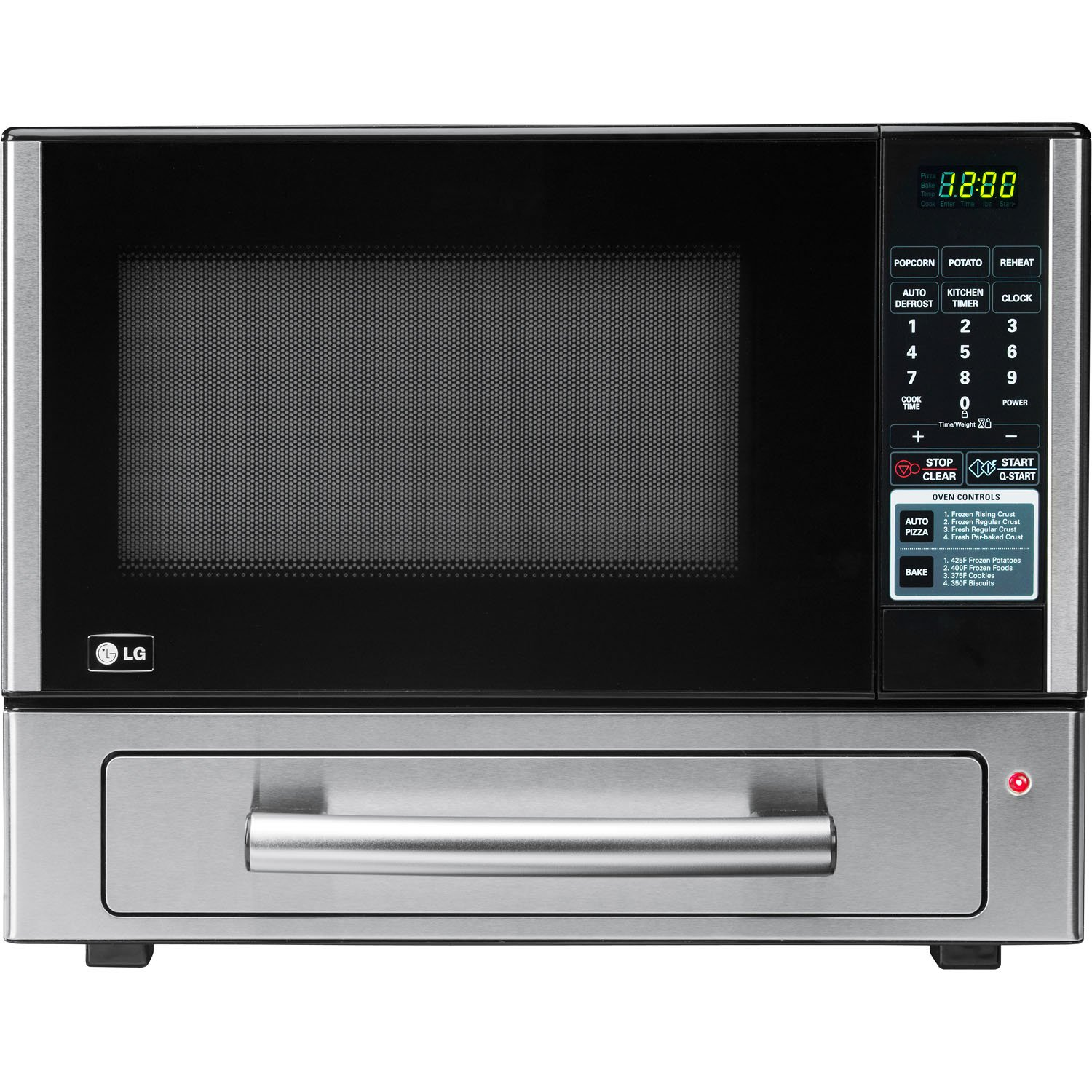 Amazon.com: LG LCSP1110ST 1.1 Cu Ft Counter Top Combo Microwave and Baking  Oven, Stainless Steel: Countertop Microwave Ovens: Kitchen & Dining