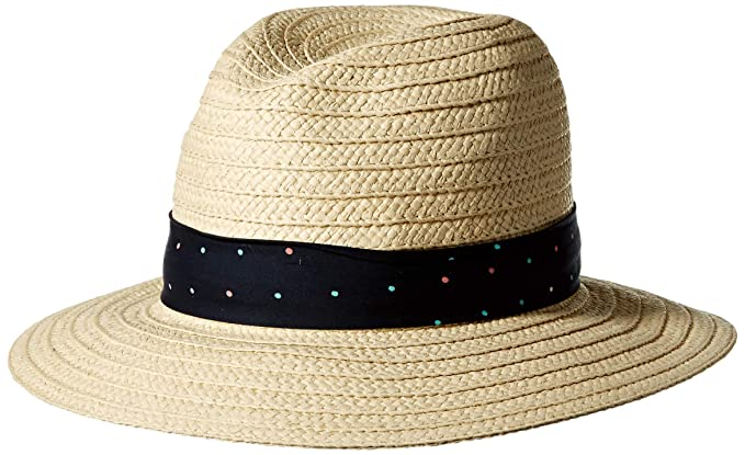 60fc1a2d0bbf56 Columbia Women's Splendid Summer Hat, Natural/Collegiate Navy One Size