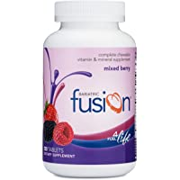 Bariatric Fusion Mixed Berry Complete Chewable Bariatric Multivitamin For Bariatric Surgery Patients Including Gastric…