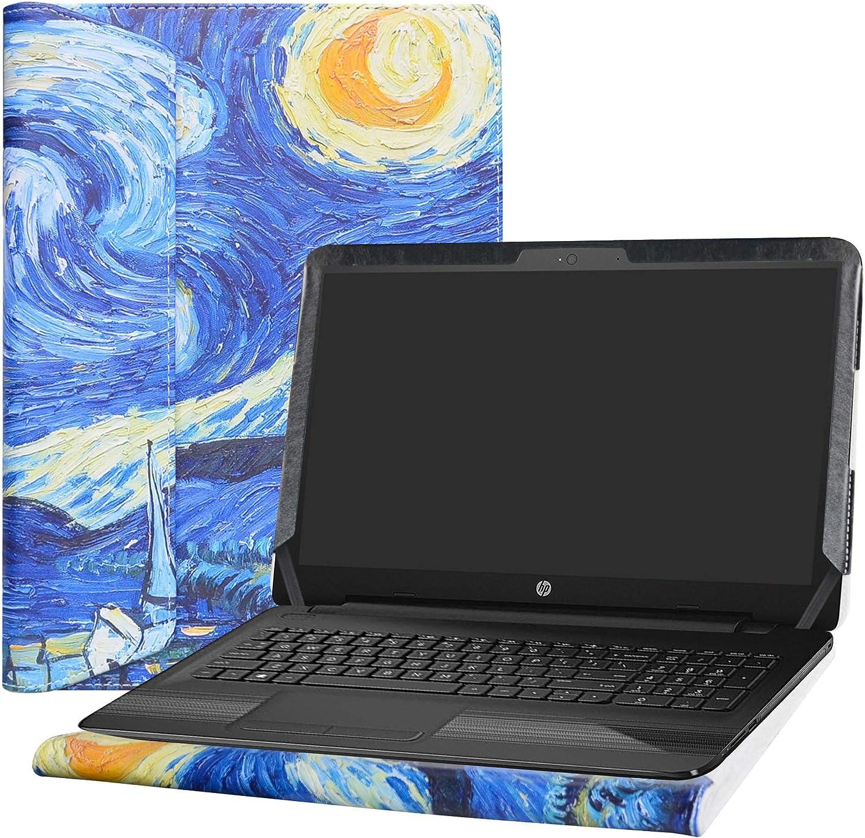 "Alapmk Protective Case Cover for 15.6"" HP Notebook 15 15-daXXXX (Such as 15-DA0012DX)/15-dbXXXX (Such as 15-DB0011DX 15-DB0010NR) Laptop[Not fit 15-bsXXX/15-bwXXX/15-acXXX/15-ayXXX],Starry Night"
