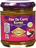 Patak's Pâte Curry Korma 165 g - Lot de 3