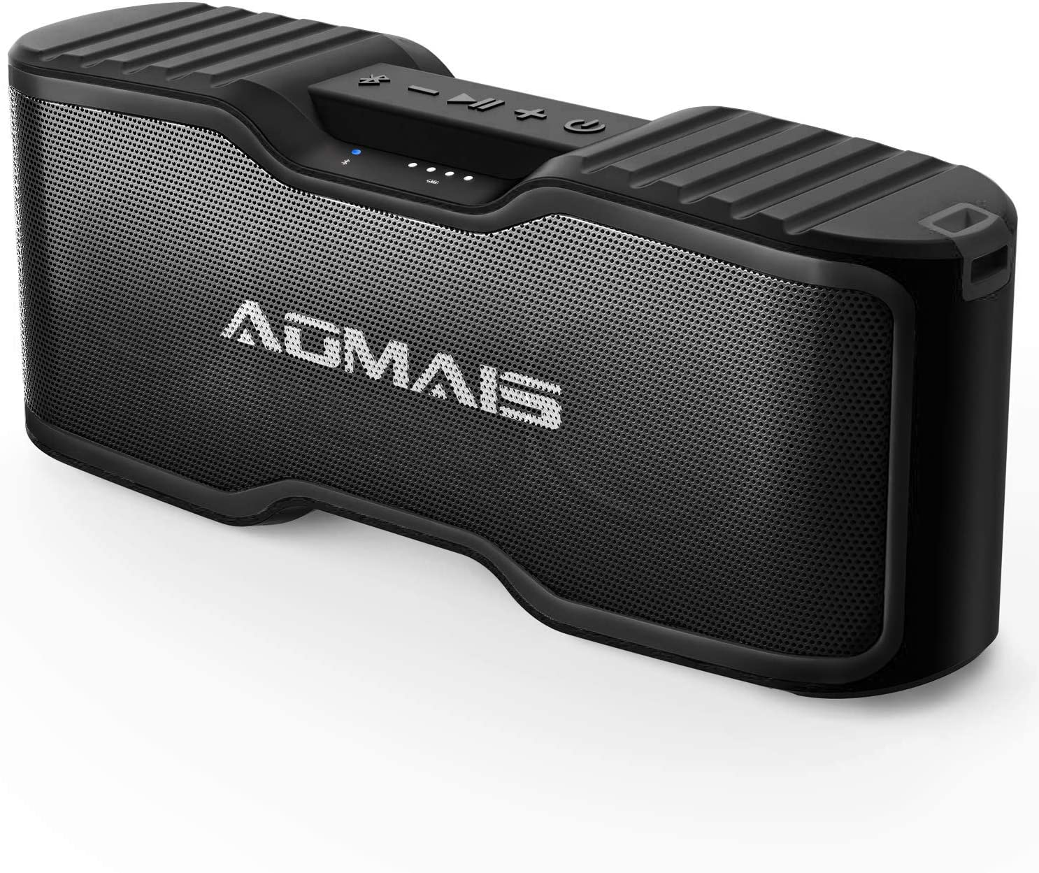 AOMAIS Sport II+ Bluetooth Speakers, Portable Outdoor Wireless Speaker, 30H Playtime, 20W HD Stereo Sound & Richer Bass,IPX7 Waterproof,Travel Bluetooth Speaker,100ft Bluetooth for Party,Beach,Shower