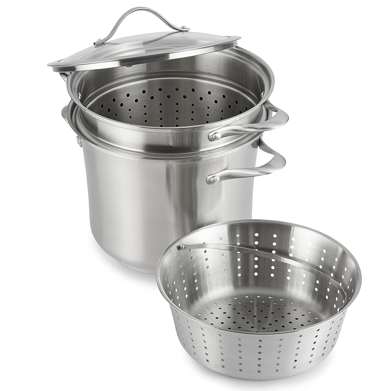 Calphalon Contemporary Stainless Steel Cookware/Multi-Pot, 8 quart