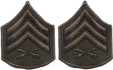 Estados Unidos Ejército sargento de personal militar camuflaje (Estados Unidos) para coser en la parche bordado insignia apliques Diseño de PatchWOW: Amazon.es: Hogar