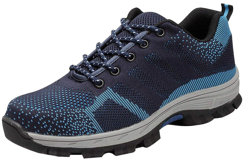 tqgold Zapatillas de Seguridad para Hombre Mujer, Zapatos de Trabajo con Punta de Acero: Amazon.es: Zapatos y complementos