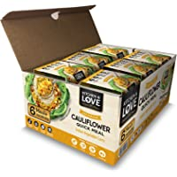 Kitchen & Love Indian Vegetable Curry Cauliflower Quick Meal 6-Pack | Vegan, Gluten-Free, Keto, Ready-to-Eat, No…