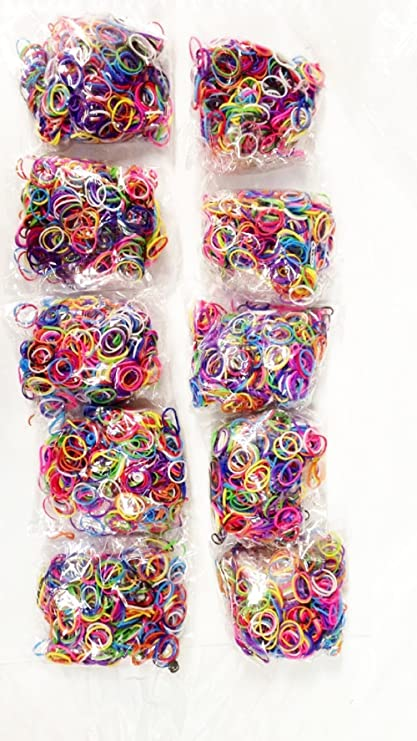 Amazon bluedot trading 600 piece do it yourself bracelet kit bluedot trading 600 piece do it yourself bracelet kit refill pack rubber band solutioingenieria Gallery