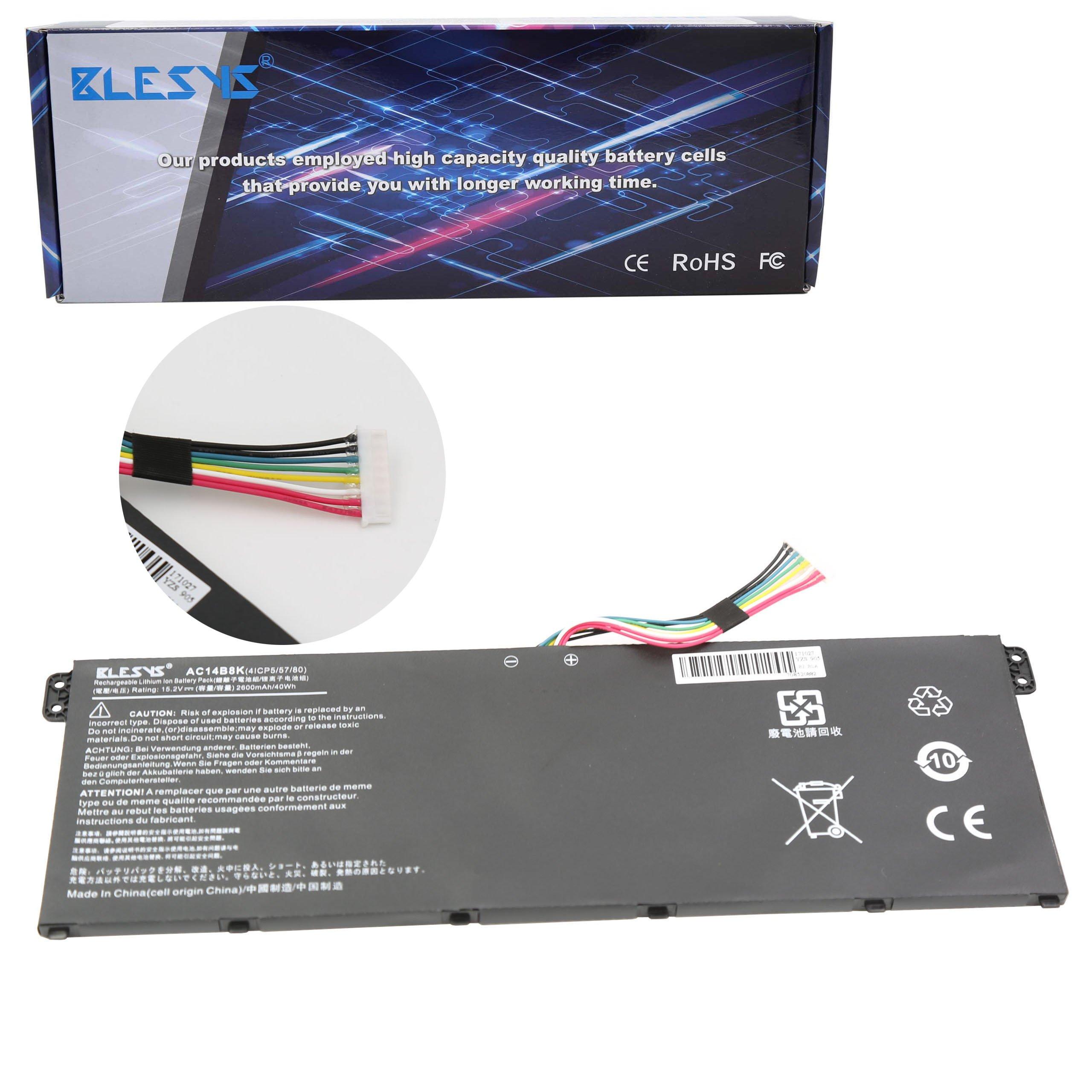 Bateria 15.2V/2200mAh Acer AC14B8K ACER Aspire V3-371 V3-331