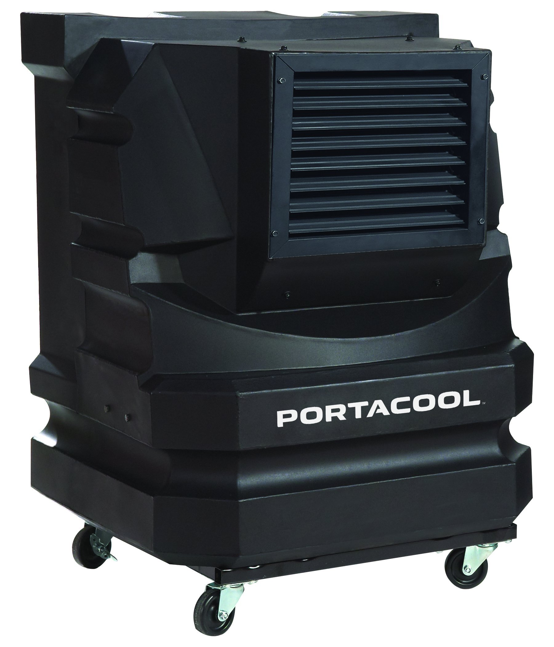Portacool PAC2KCYC01 Cyclone 3000 Portable Evaporative Cooler with 700 Square Foot Cooling Capacity, Black