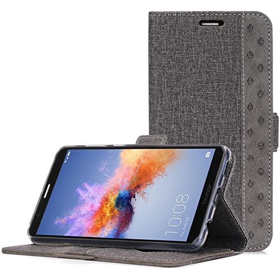 official photos 2493d e0214 Huawei Mate SE Case, Honor 7X Wallet Case, ProCase Folio Folding Wallet  Case Flip Cover Protective Case for Huawei Honor 7X Huawei Mate SE, with  Card ...