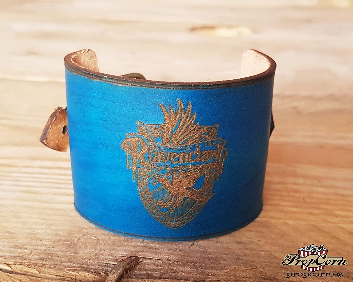 Harry Potter Ravenclaw Wristband. Wears the colour of your Hogwarts House with Pride, made of high quality leather.