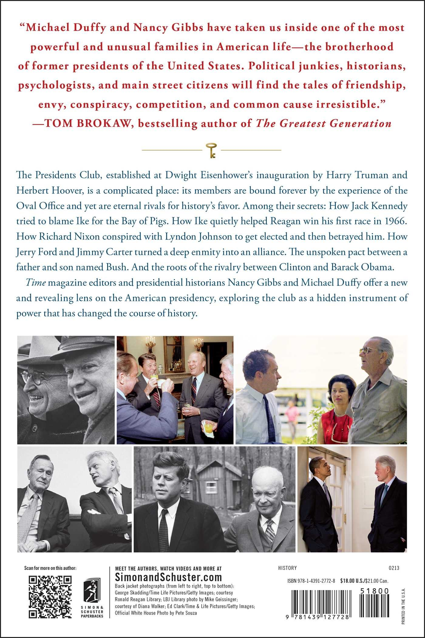 Amazon.com: The Presidents Club: Inside the World's Most Exclusive  Fraternity (9781439127728): Nancy Gibbs, Michael Duffy: Books