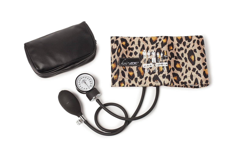 Koi by ADC Aneroid Sphygmomanometer Blood Pressure Cuff (New Leopard)