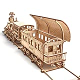 Wood Trick Wooden Toy Train Set with Railway