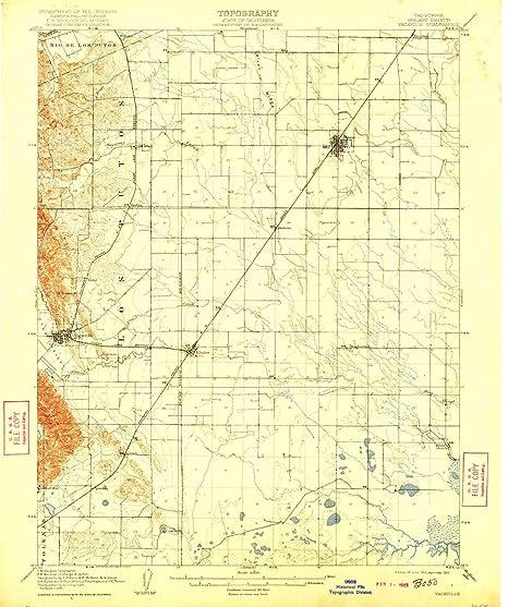 Map Of California Vacaville.Amazon Com Yellowmaps Vacaville Ca Topo Map 1 62500 Scale 15 X