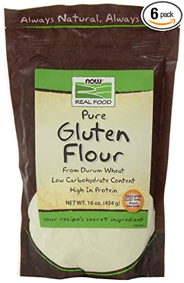 NOW Foods Gluten Free Flour, 16-Ounce (Pack of 6)