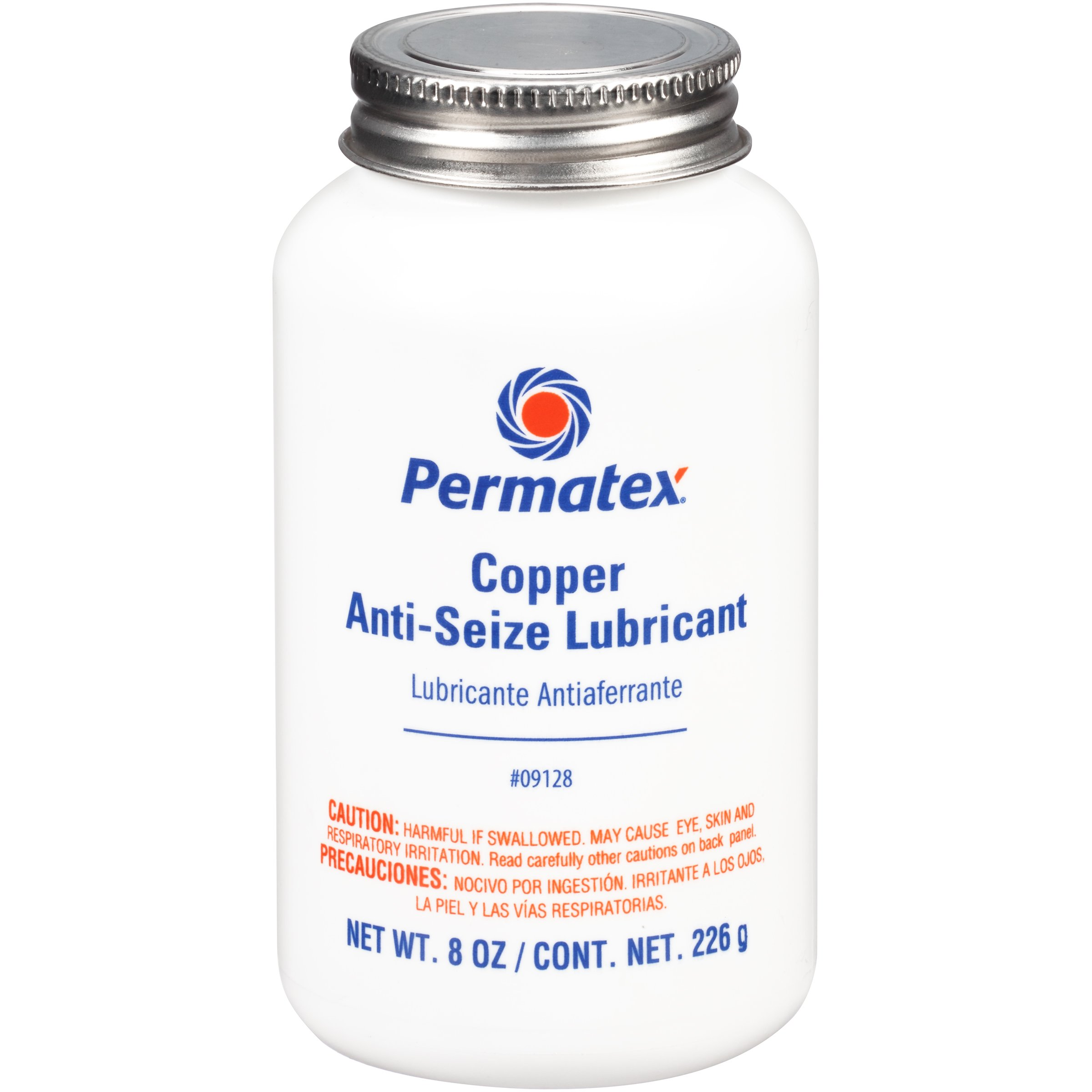 Permatex 09128-6PK Copper Anti-Seize Lubricant - 8 oz., (Pack of 6) by Permatex