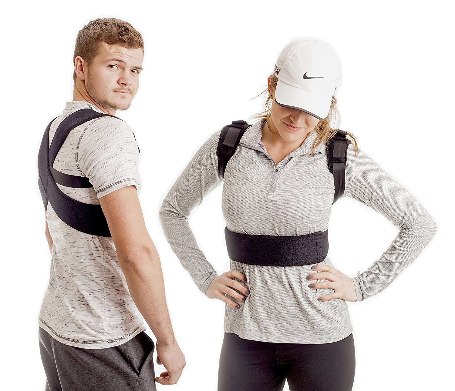 Back Posture Corrector for Men & Women -Kyphosis Brace to Improve Shoulder Alignment & Relieve Upper Back Pain -Posture Brace thats Effective & Comfortable - Clavicle Support for Improve Posture