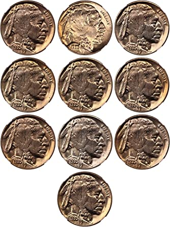 315eaf6fa535 1935 D Buffalo Nickels MS64 at Amazon s Collectible Coins Store