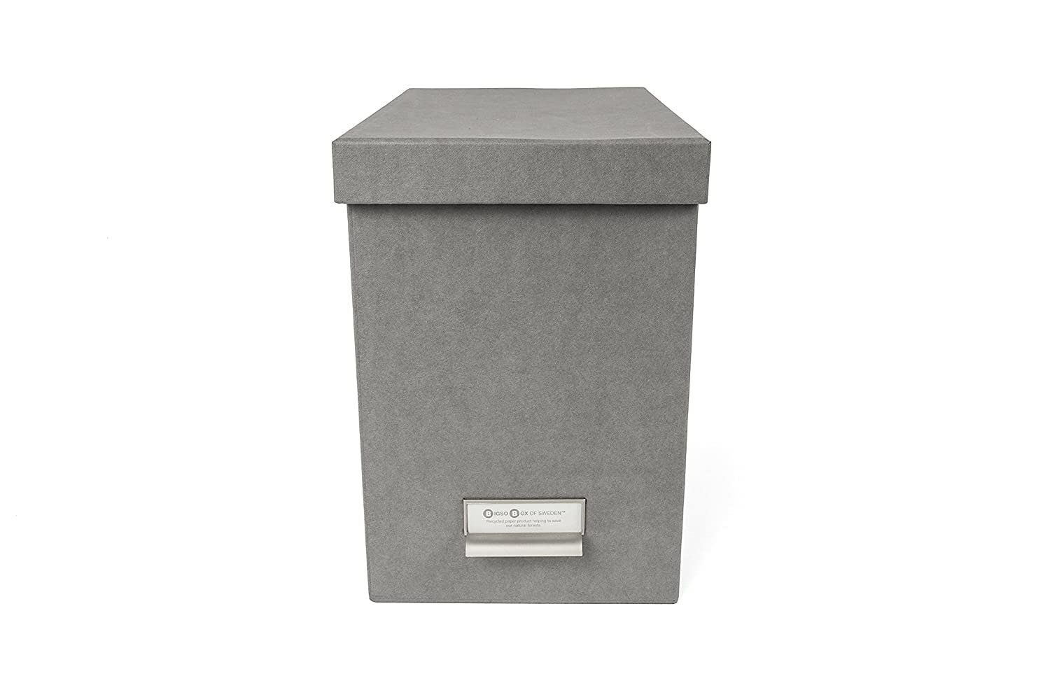 Bigso John Desktop File Box, Grey 954154144
