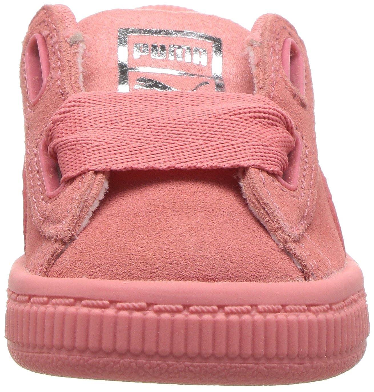PUMA Kids Suede Heart SNK Sneaker 364919-06
