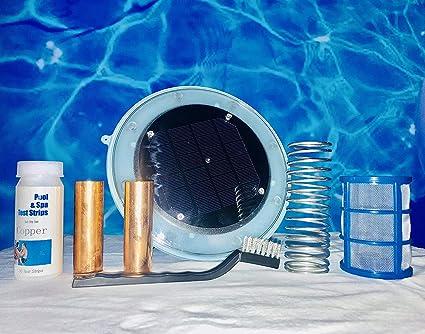 Blue Sea Sea Solar Pool Ionizer Water Purifier Swimming Pool ...