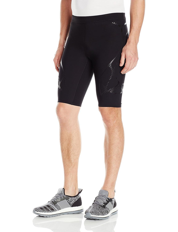 Adidas Men 's Running adizero Short Tight下部 Small ブラック B01HGQ8PIO