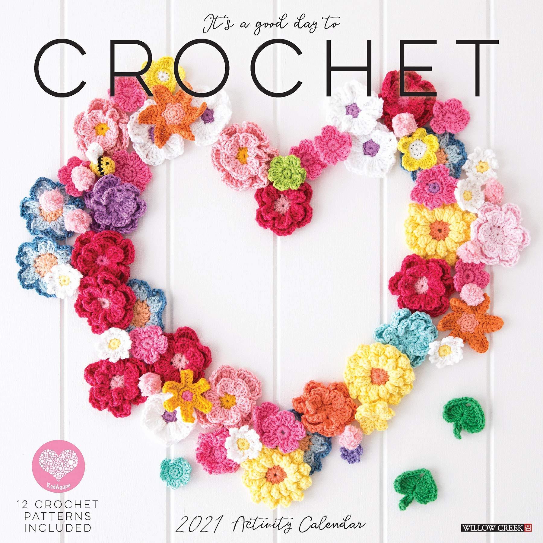 Crochet Calendar 2021 Background