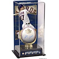 $244 » Jose Altuve Houston Astros 2017 MLB World Series Champions Autographed Logo Baseball and World Series Sublimated Case with Image…