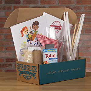 Steve Spangler's STEM in a Box After Dinner Science Kit Family Friendly Experiments at Home
