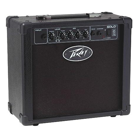 Peavey solo guitar – Amplificador combo para guitarra eléctrica 15 watts negro