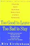 how to know whether to stay or leave a relationship