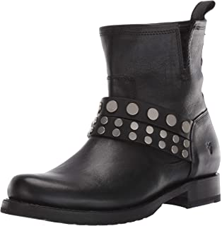 Frye Womens Reed Feather Inside Zip Bootie Ankle Boot