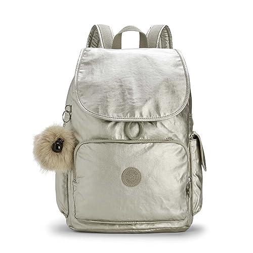 Kipling City Pack, Mochila para Mujer, Plateado (Silver Beige) 32x37x18.5 cm: Amazon.es: Zapatos y complementos
