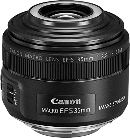 Canon Objektiv Ef S 35mm F2 8 Is Macro Stm Für Eos Kamera