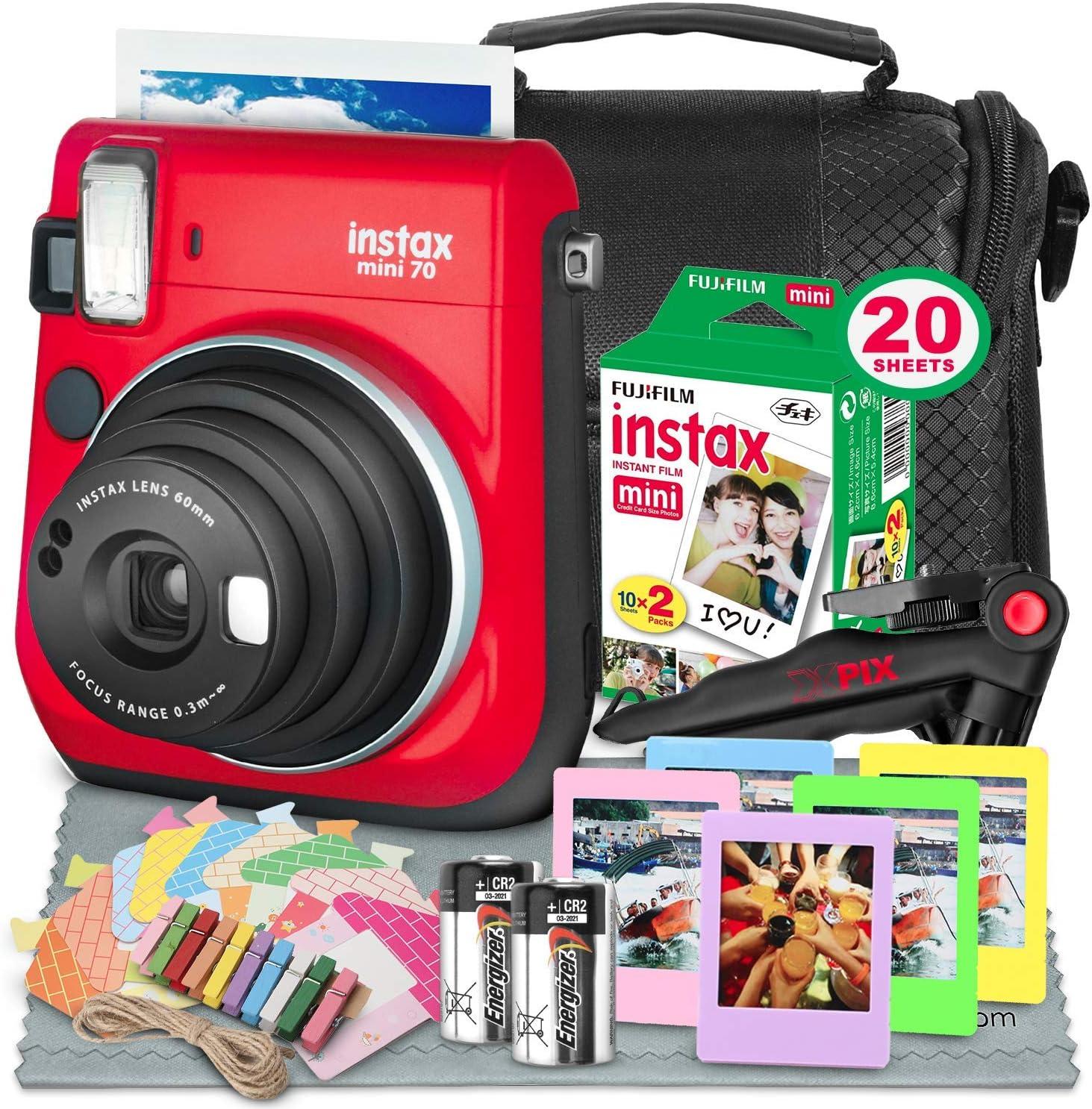 Fujifilm Instax Mini 70 Sofortbildkamera Mit Kamera