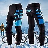 sponeed Men's Bike Tights Thermal Cycling Pants